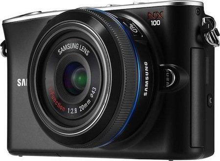 samsung nx100 front