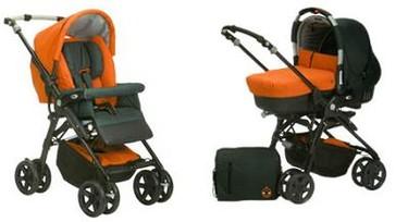 Nuevas barras protectoras para las sillas de paseo Carrera-Pro (Jané)