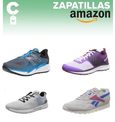 Chollos en tallas sueltas de  zapatillas Nike, New Balance o Reebok por menos de 40 euros en Amazon