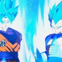 Goku y Vegeta Super Saiyan Blue demostrarán todo su potencial en el segundo DLC de Dragon Ball Z: Kakarot