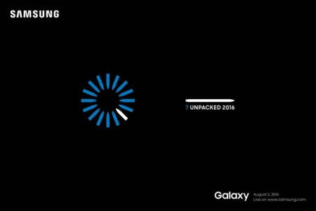 Samsung Galaxy Note 7 invitaciones