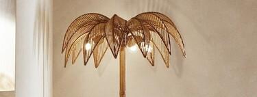 Nuevo objeto de deseo; la lámpara palmera de Zara Home