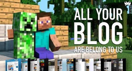 Escuela de verano Minecraft, garbanzos y juegos futboleros. All Your Blog Are Belong To Us (CCLIV)