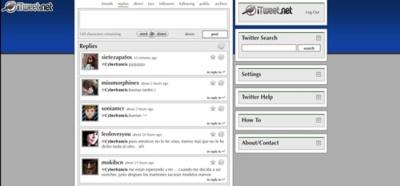 iTweet, una alternativa al entorno de usuario de Twitter