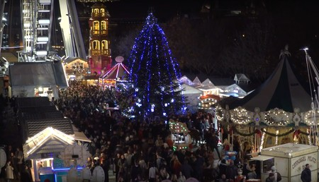 La Magia de la Navidad llega a las Tullerías, París