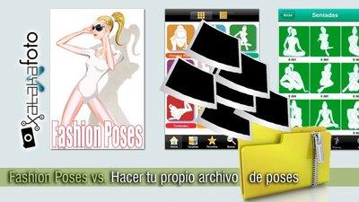 Fashion Poses vs. Hacer tu propio archivo de poses
