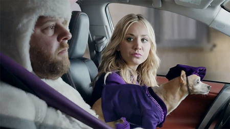 #WishGranted con Penny, de The Big Bang Theory, y spots con sentido del humor de Toyota