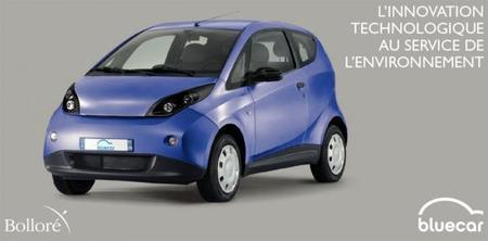 El nuevo Bolloré BlueCar se suma al servicio car sharing de Autolib por 330 euros al mes