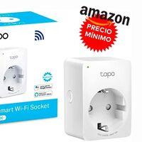 Llévate un poquito más barato todavía este enchufe inteligente en Amazon: TP-Link Tapo P100, ahora por sólo 9,90 euros