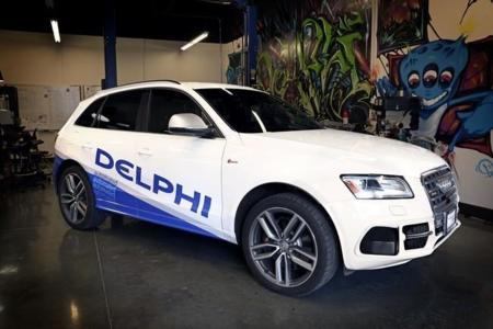 """El coche autónomo de Delphi se quiere hacer un """"costa a costa"""" en los Estados Unidos"""