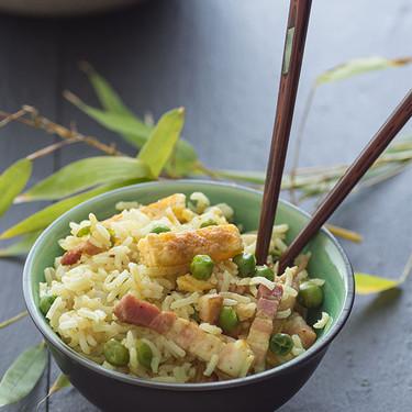 Receta de arroz cantonés a mi manera