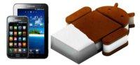 Samsung confirma que el Galaxy S y el Tab original no recibirán Ice Cream Sandwich