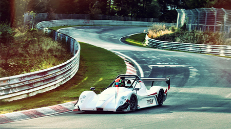 TMG EV P002, así se bate un nuevo récord en Nürburgring Nordschleife