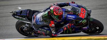 Fabio Quartararo logra su quinta pole position consecutiva y Marc Márquez se queda eliminado en la Q1