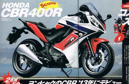 Honda CBR 400R, la verás pero no la catarás