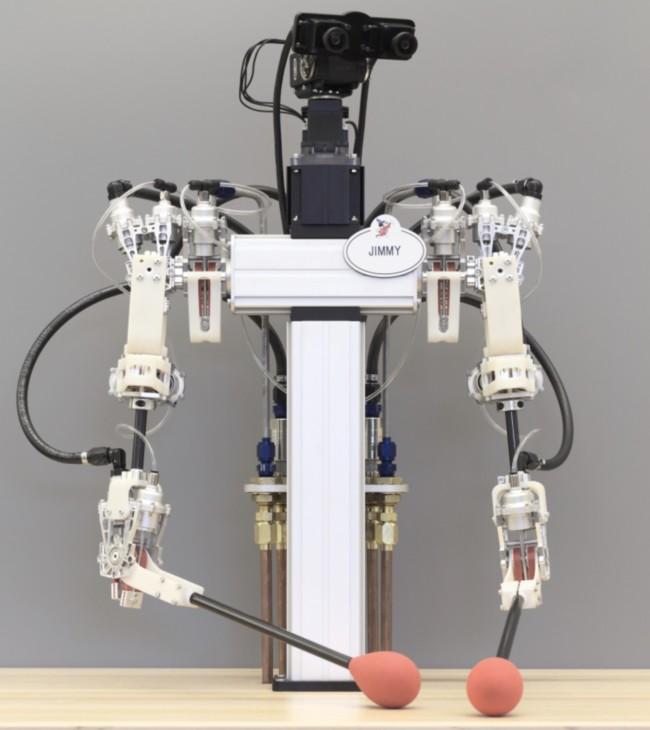 Disney A Hybrid Hydrostatic Transmission And Human Safe Haptic Telepresence Robot Image