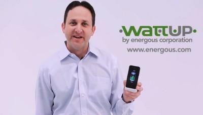 WattUp, el sistema de recarga inalámbrica, se muestra en el CES y es tan espectacular como prometían
