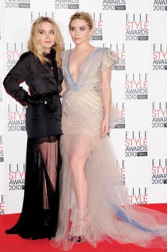 Las invitadas a los Elle Style Awards 2010