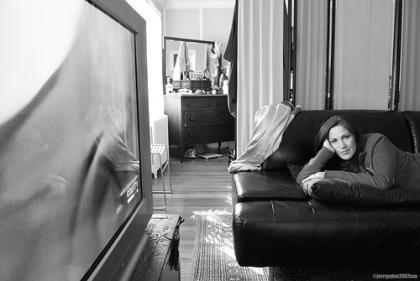 Fotos de gente viendo la televisión