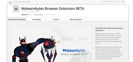 Malwarebytes lanza una extensión con la que afirman que cargaremos las páginas hasta tres veces más rápido