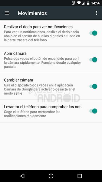 Gestos Android