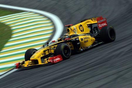 Gran Premio de Brasil de Fórmula 1: Robert Kubica, el más rápido bajo la lluvia