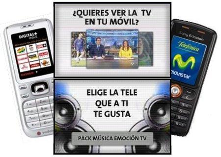 Movistar y Vodafone redefinen sus ofertas de televisión móvil