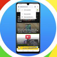 Chrome para Android estrena atajo: abrir una nueva pestaña y cerrar la actual es más fácil que nunca