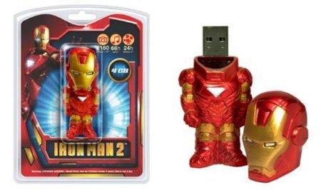 Memorias USB de Ironman 2