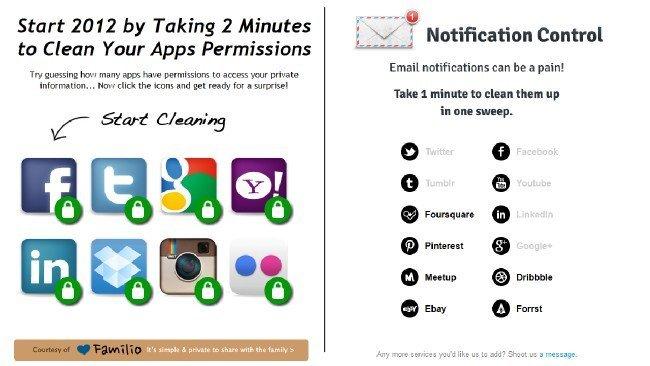 Accede a las configuraciones de notificaciones y permisos de los sitios más usados con Notification Control y MyPermissions