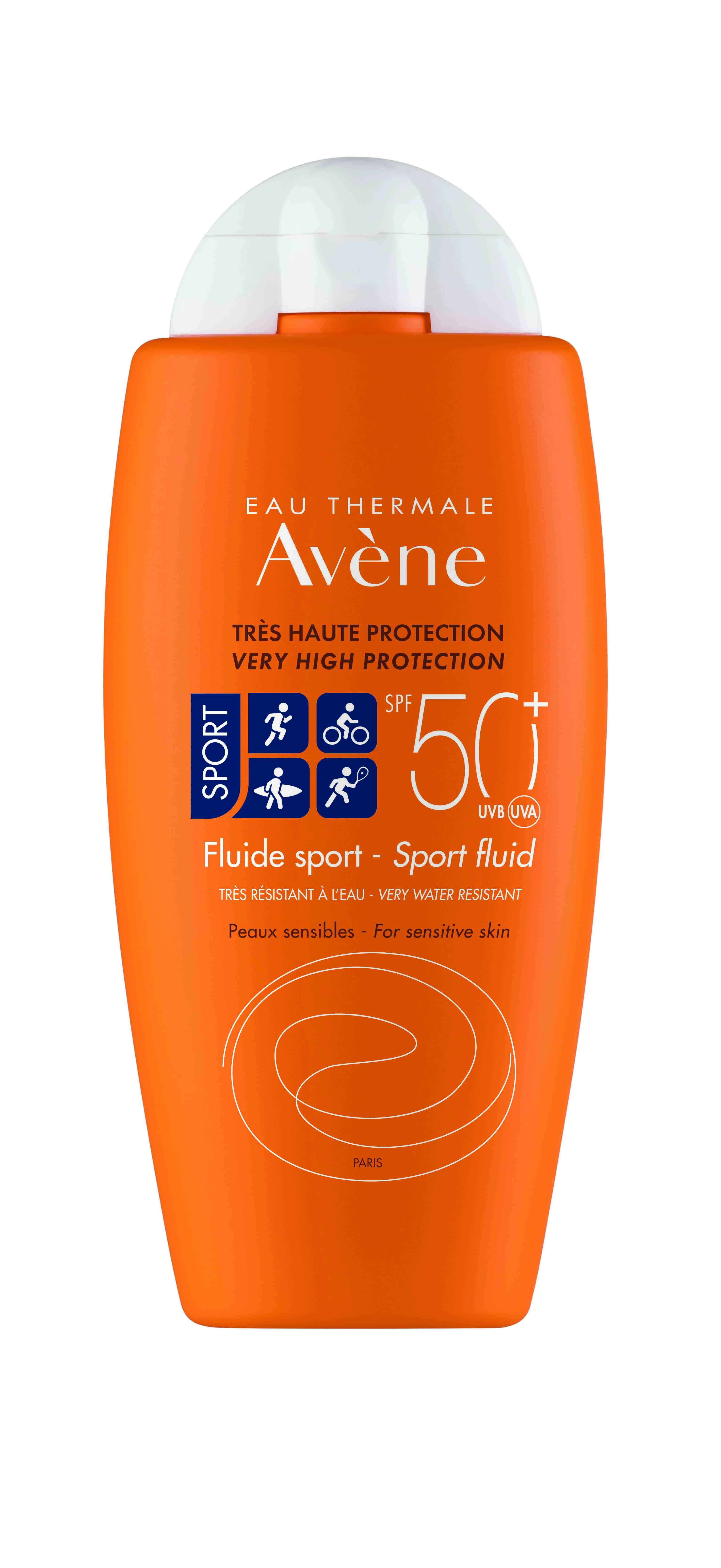 Fluido Protección Solar Sport 50+ 100 ml Avène