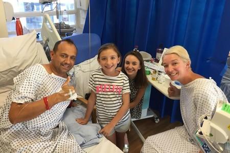 Una mujer dona un riñón a su expareja porque no quiere que sus hijas pierdan a su padre: una hermosa lección de vida