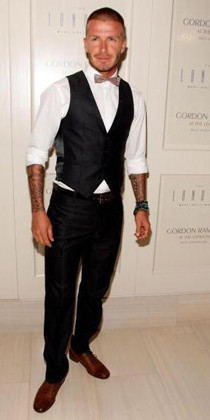 El look de David Beckham