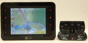 LG LAN-SD460, navegador controlable desde el volante