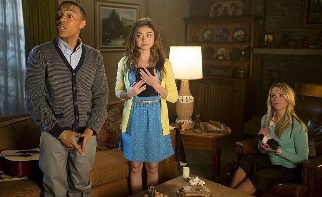 Imagen de la parodia de 'Posesión infernal' en 'Scary Movie 5'