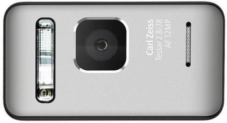 Cámara de fotos del Nokia N8