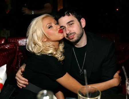 Christina Aguilera y Jordan Bratman