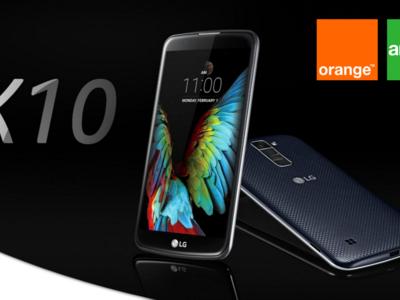 Precios LG K10 con Orange y Amena