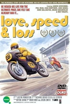 Love, speed & loss. La triste historia de Kim Newcombe