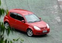 Foto del nuevo Ford Ka versión no europea