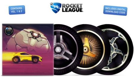 Rocket League le pilla el gusto al formato físico y presenta su B.S.O. en vinilo