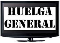 Cómo se enfrenta la televisión a la huelga general