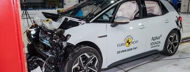 Volkswagen ID.3 obtiene 5 estrellas en las pruebas de Euro NCAP