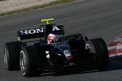 Presentado el Honda RA107
