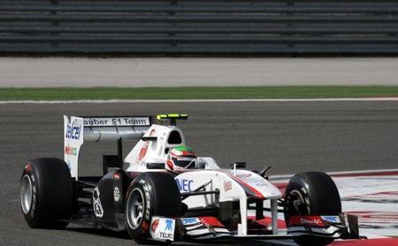 Sauber llevará un pack de mejoras para el Gran Premio de España