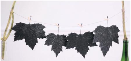 Hazlo tú mismo: Decora con hojas secas