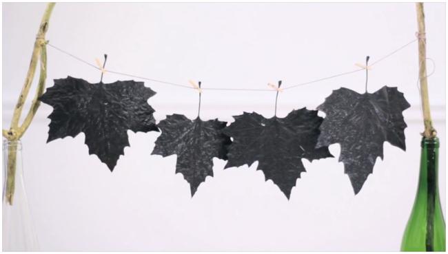 Hazlo tú mismo: decorar con hojas