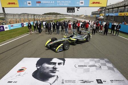 Formula E Valencia homenaje Adrián Campos