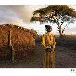 El viaje iniciático de Valentino a un pueblo Masai en África de la mano de Steve McCurry