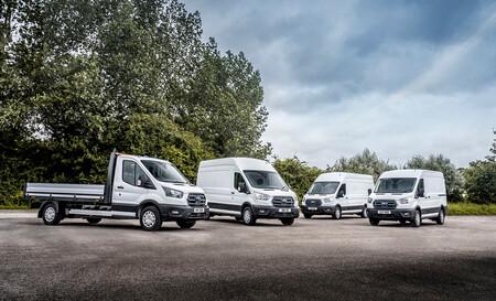 La furgoneta eléctrica Ford E-Transit comienza a operar en Europa